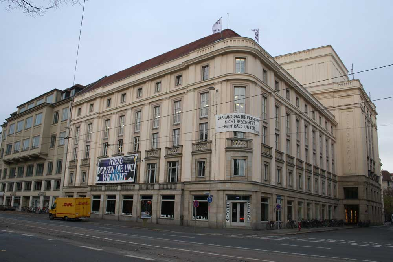 Das Schauspielhaus Leipzig. Foto: Ralf Julke
