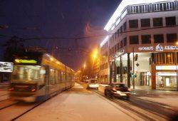 Soll künftig im 10-Minuten-Takt bis Lützschena fahren: Linie 11. Foto: Ralf Julke