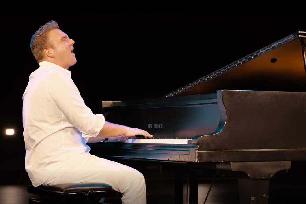 René Ulbrich beim Videodreh für