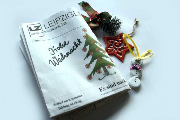 Leipziger Zeitung Nr. 86: Frohe Weihnacht im Coronajahr. Foto: L-IZ