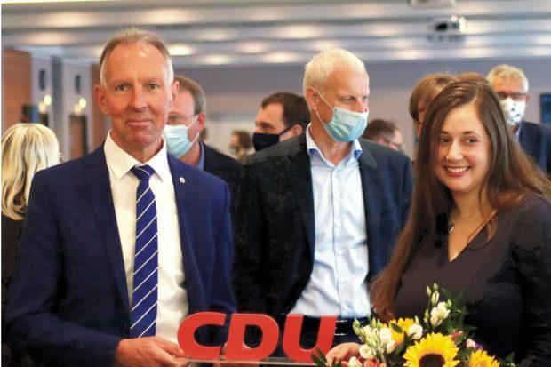 Bereits am 17. Oktober 2020 nominiert - Jens Lehmann (Nord) und Jessica Heller (Süd) für die CDU Leipzig. Foto: Michael Freitag