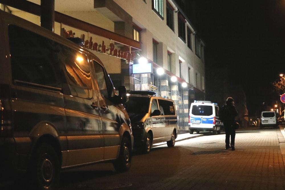 Die Polizeistation in der Connewitzer Wiedebachpassage. Foto: L-IZ.de