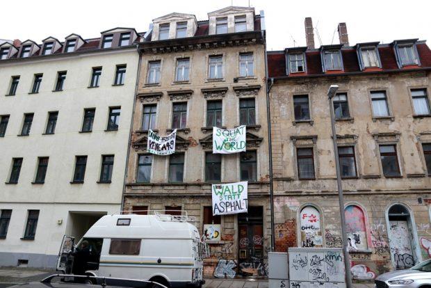 Ein Haus an der Mariannenstraße am 6. Januar 2020. Foto: L-IZ.de