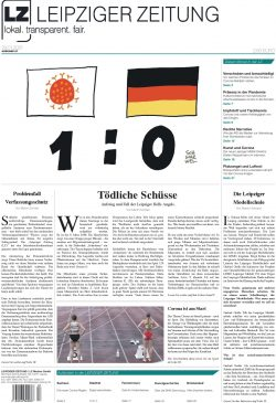 Das Titelblatt der LZ Nr. 87, Ausgabe Januar 2021. Screen LZ