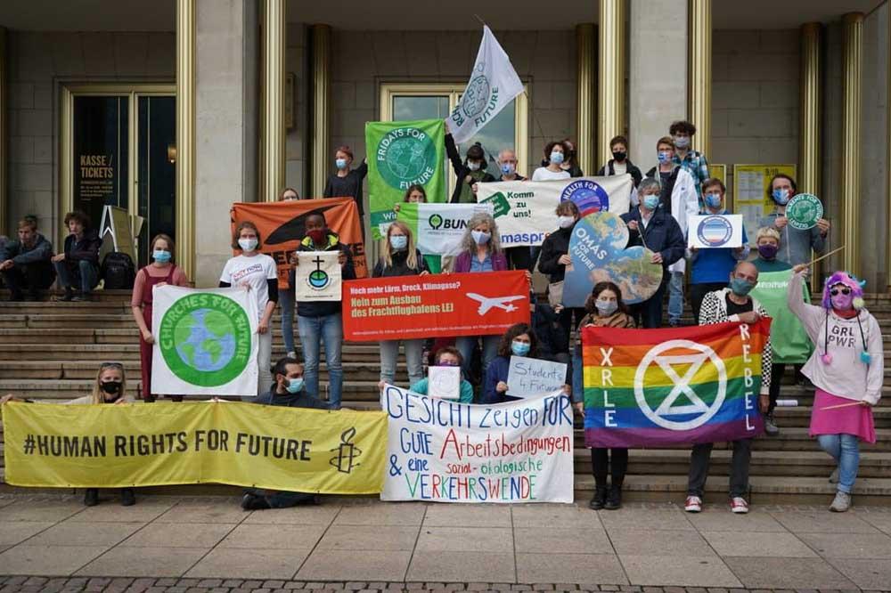 Das Bündnis Leipzig für's Klima. Foto: Fridays for Future Leipzig