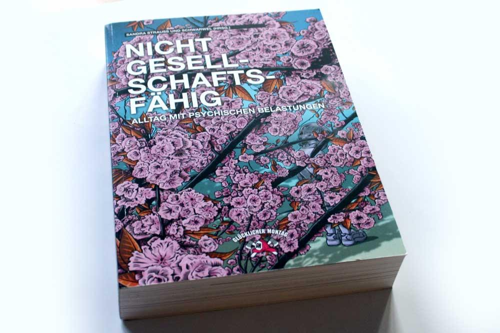 Sandra Strauß, Schwarwel (Hrsg.): Nicht gesellschaftsfähig. Foto: Ralf Julke