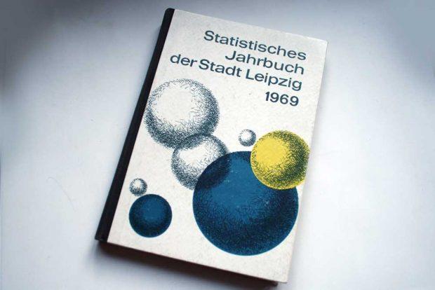 Das Statistische Jahrbuch der Stadt Leipzig 1969. Foto: Ralf Julke