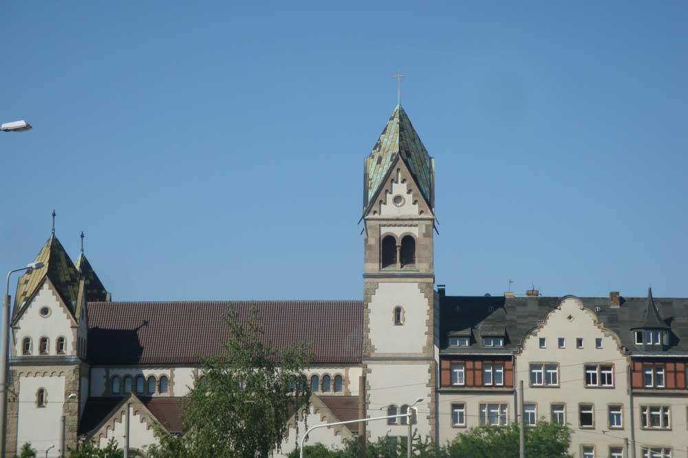 Langjährige Wirkungsstätte der Oratorianer: Liebfrauenkirche in Lindenau. Foto: Gernot Borriss