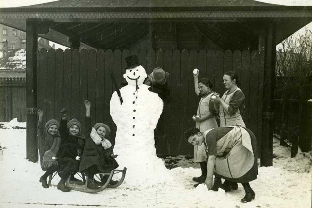 Schnee von gestern. Foto: Stadtgeschichtliches Museum Leipzig