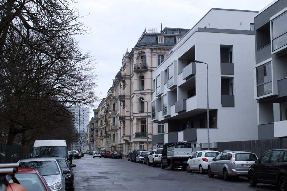 Schwägrichen- / Ecke Haydnstraße. Foto: Ralf Julke