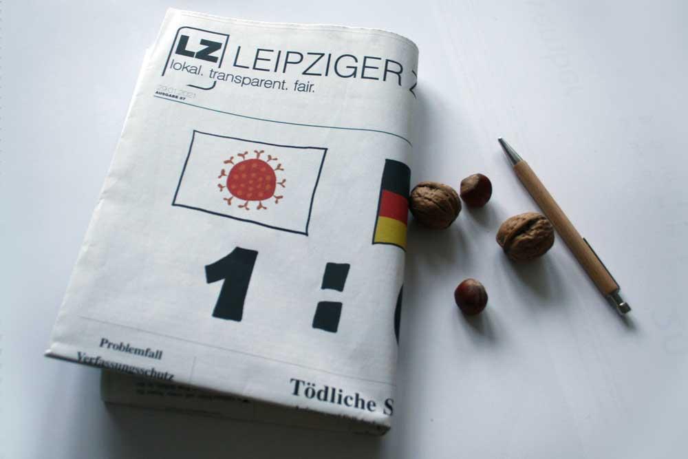 Leipziger Zeitung Nr. 87: 1:0. Foto: Ralf Julke