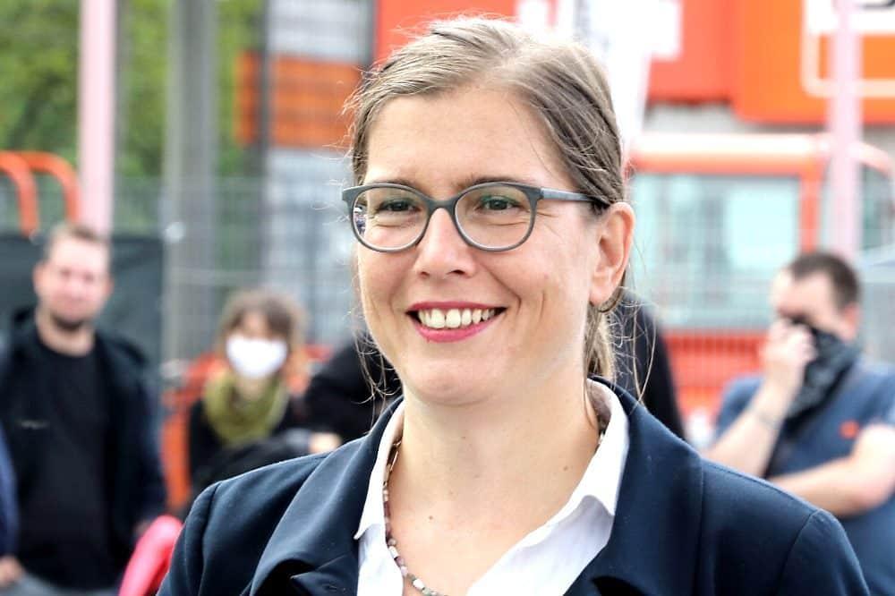 Leipzigs Kulturbürgermeisterin Skadi Jennicke. © Michael Freitag