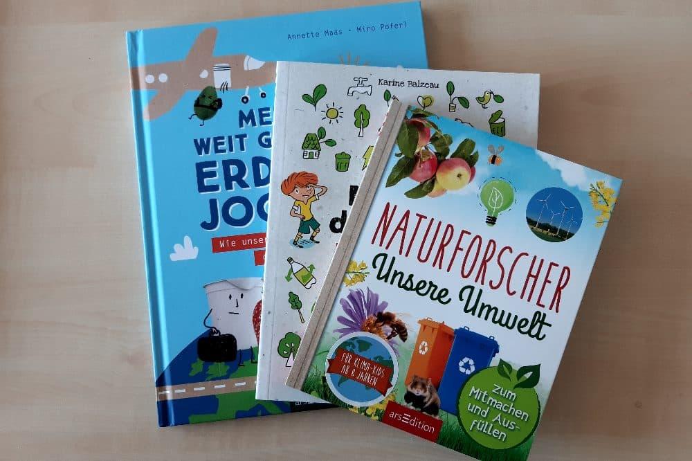 UiZ-Kinderbücher. Quelle: Stadt Leipzig