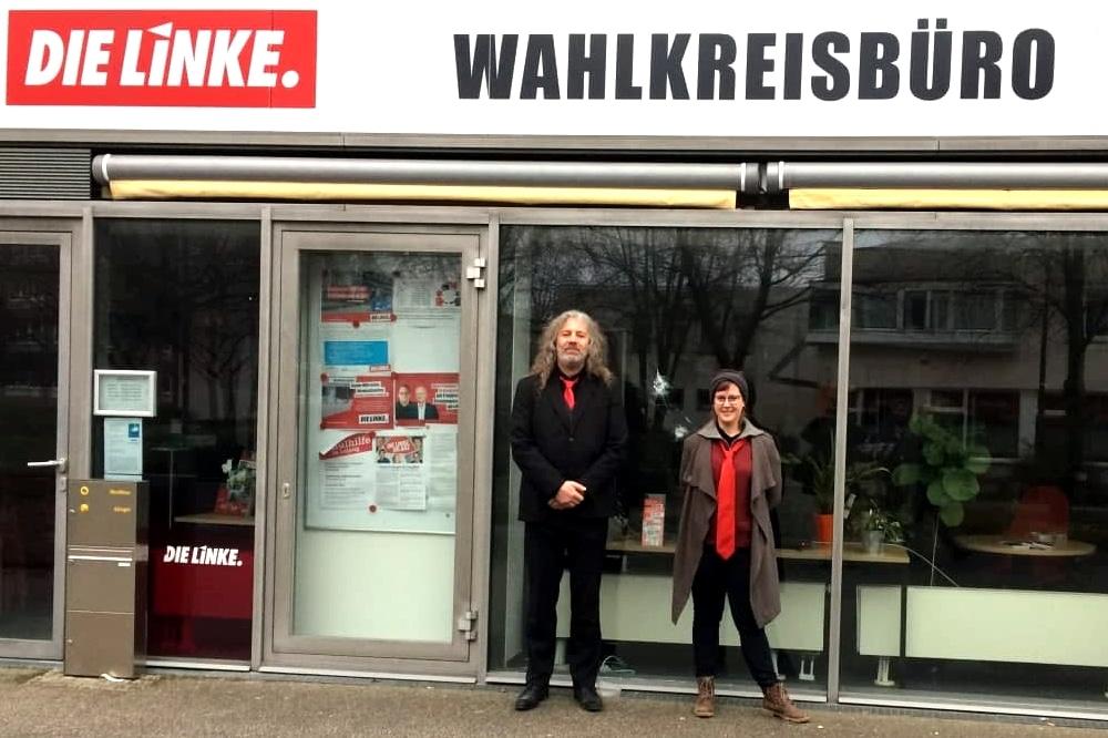 Thomas Kumbernuß und Katharina Subat möchten für die PARTEI in den Bundestag. Foto: LZ
