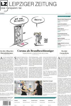 """Die neue """"Leipziger Zeitung (LZ)"""", VÖ 26.02.2021"""