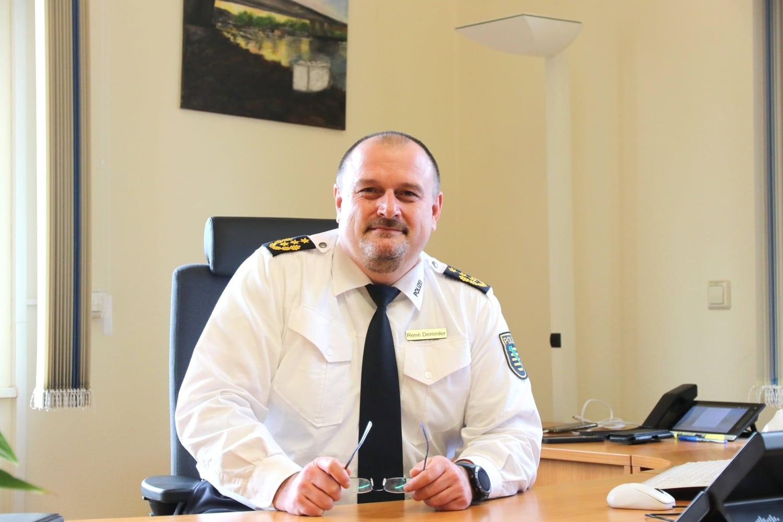 Seit 1. Februar 2021 Leipzigs neuer Polizeipräsident: René Demmler. Foto: Michael Freitag