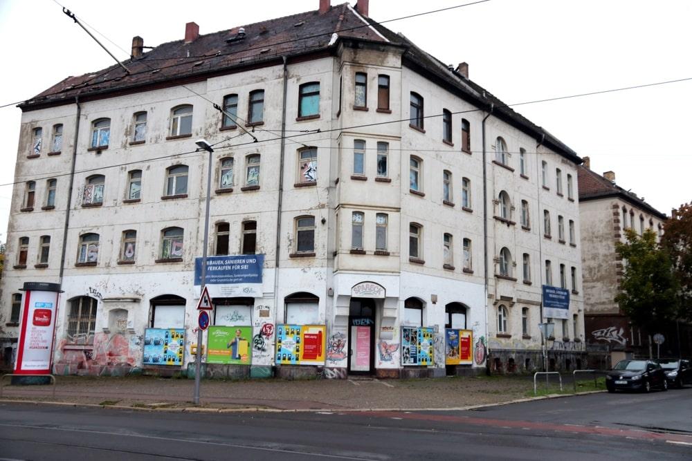 Riesaer Straße Ecke Ostheimstraße. Foto: LZ