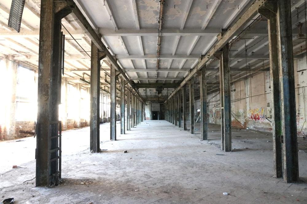 """Die """"Karl Krause"""" Fabrik an der Theodor-Neubauer-Straße 60. Foto: LZ"""