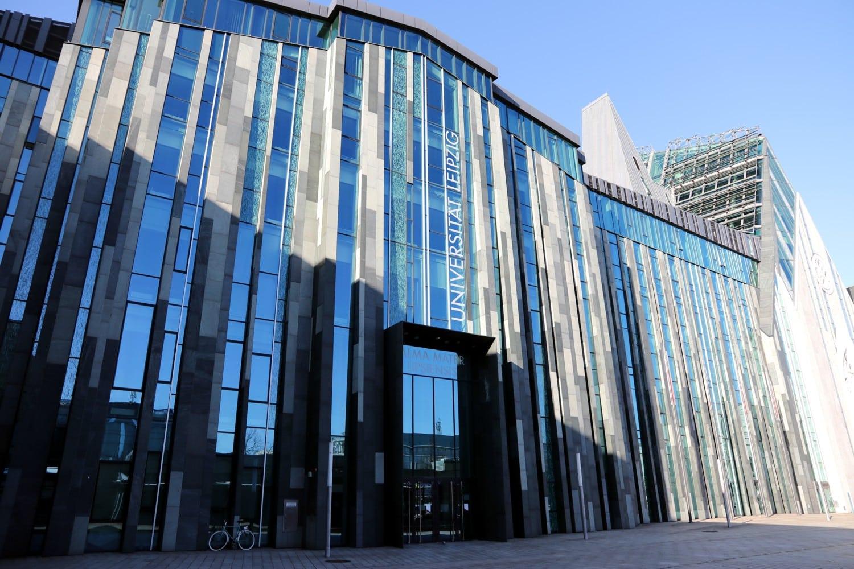 Universitätsgebäude Augusteum und Paulinum am Augustusplatz. Foto: Michael Freitag