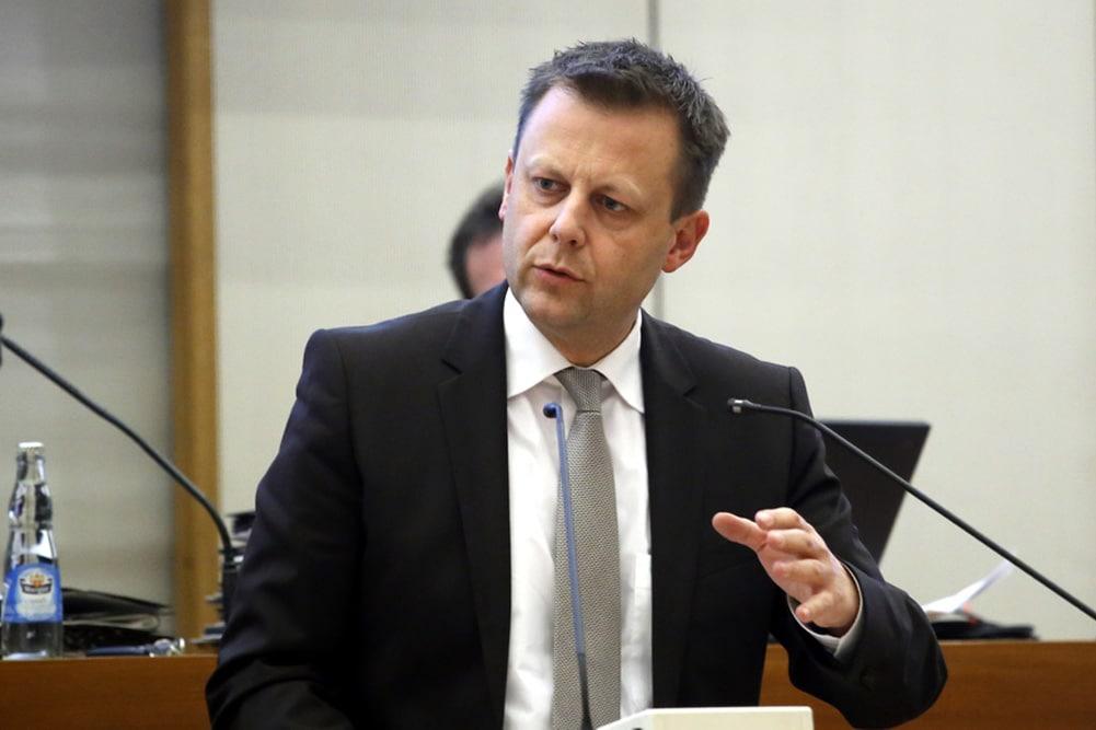 Finanzbürgermeister Torsten Bonew (CDU). Archivfoto: LZ