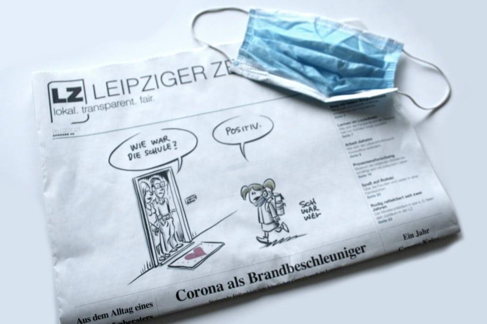 Leipziger Zeitung Nr. 88: Corona als Brandbeschleuniger. Foto: L-IZ