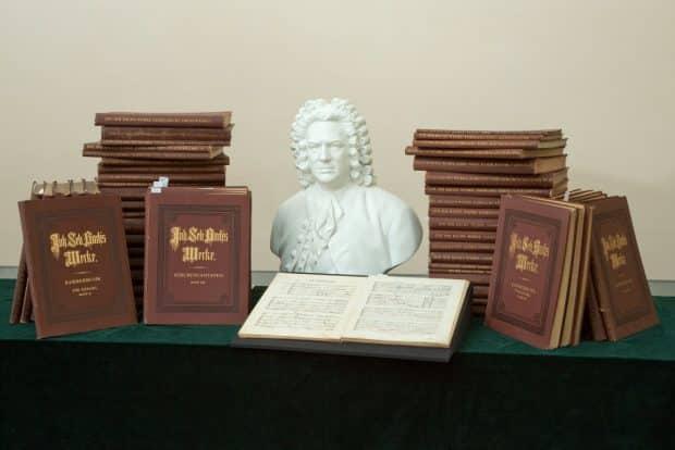 Gustav Mahlers Bach-Gesamtausgabe. Foto: Bach-Archiv/Gert Mothes