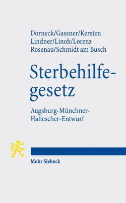"Cover ""Sterbehilfegesetz"". Foto: Mohr Siebeck"