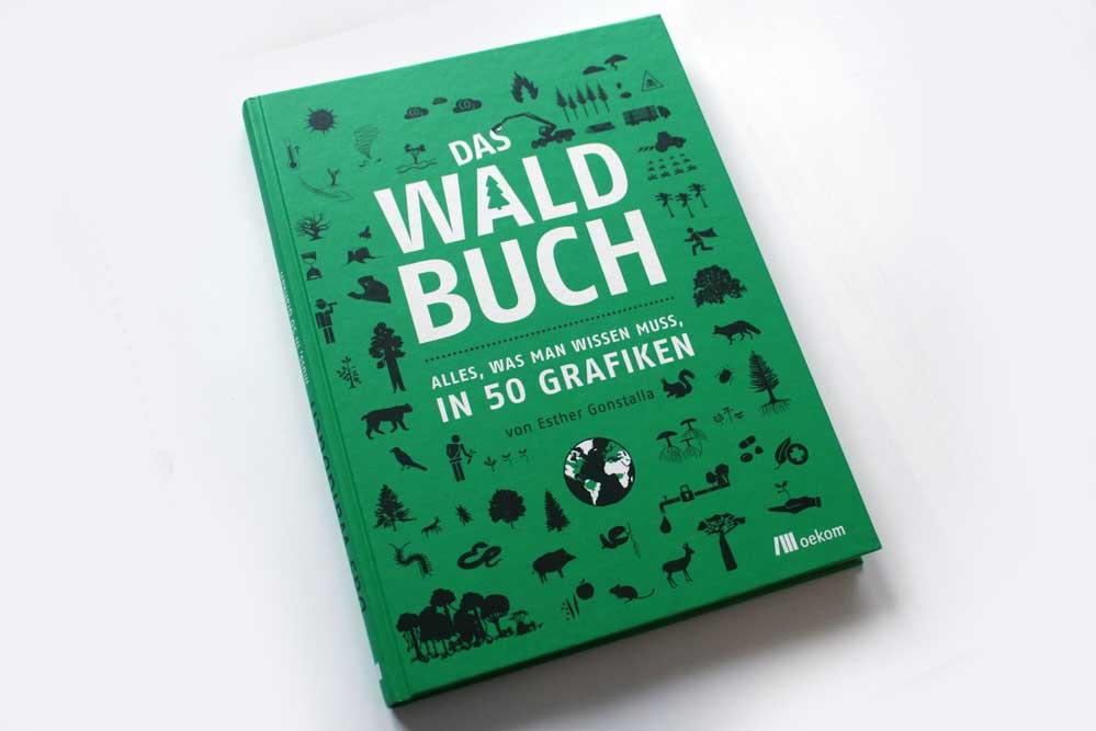 Esther Gonstalla: Das Waldbuch. Foto: Ralf Julke