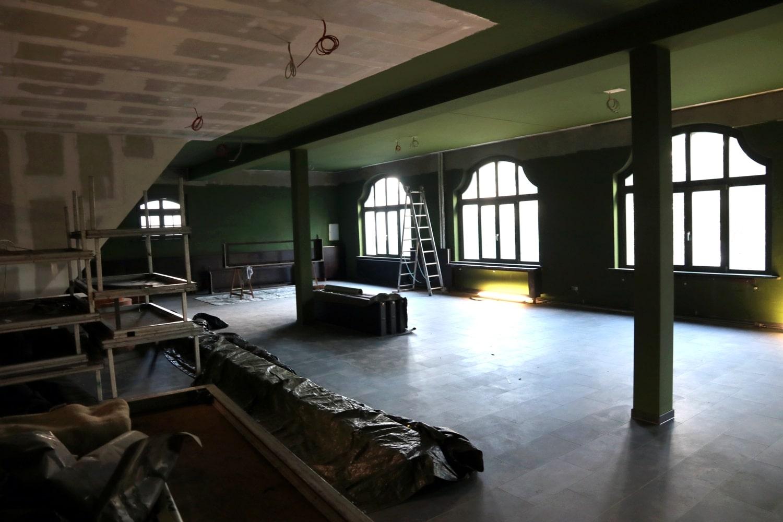 Die Zeit der Krise zum Um- und Ausbau der zweiten Etage genutzt. Foto: LZ