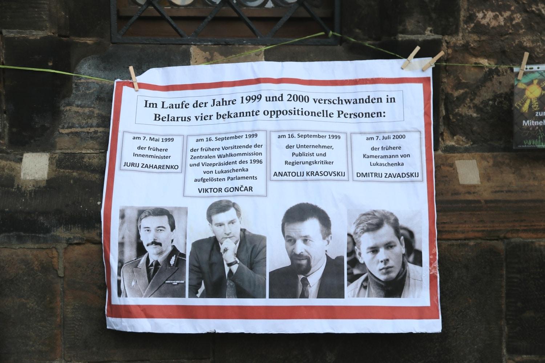 """Einer der vielen """"kleinen"""" Unterschiede zwischen einer """"Diktatur"""" und einer Diktatur. Foto: LZ"""