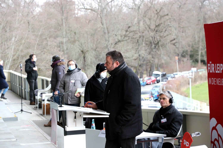 Kämpfte hart und trat dann medial nach - Kandidat und Stadtrat Andreas Geisler. Foto: LZ