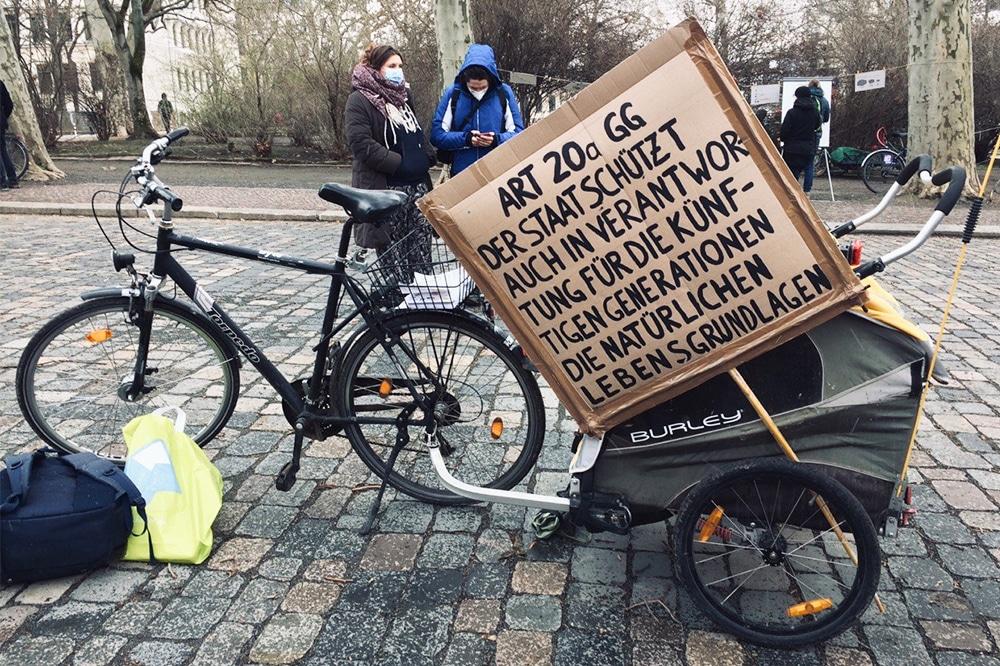 Klimastreik in Leipzig. Foto: LZ