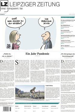 Die neue Leipziger Zeitung (LZ) Nr. 89, VÖ 26.03.2021