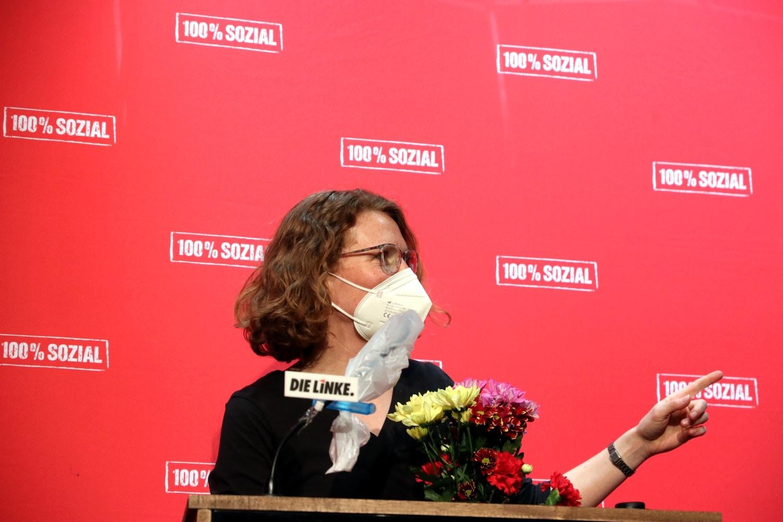 Nina Treu nach ihrer Wahl. Foto: LZ