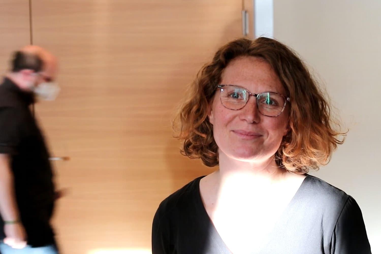 Nina Treu (Die Linke) tritt am 26. September 2021 im Wahlkreuis Nord zur Bundestagswahl an. Foto: LZ