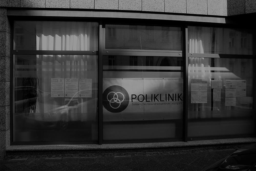 Die Poliklinik in Leipzig-Schönefeld sieht Gesundheit im gesamtgesellschaftlichen Ansatz. Foto: Poliklinik Leipzig