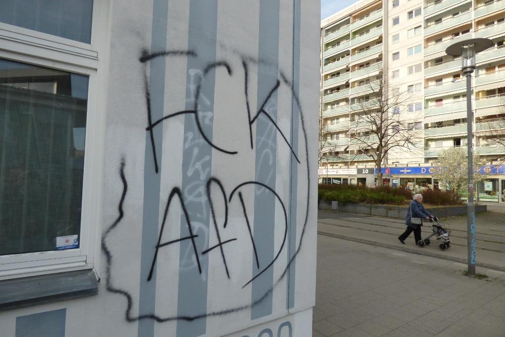 """Die Stuttgarter Allee ist ebenfalls bei den """"gefährlichen Otren"""" laut Polizei eingruppiert. Foto: Lucas Böhme"""