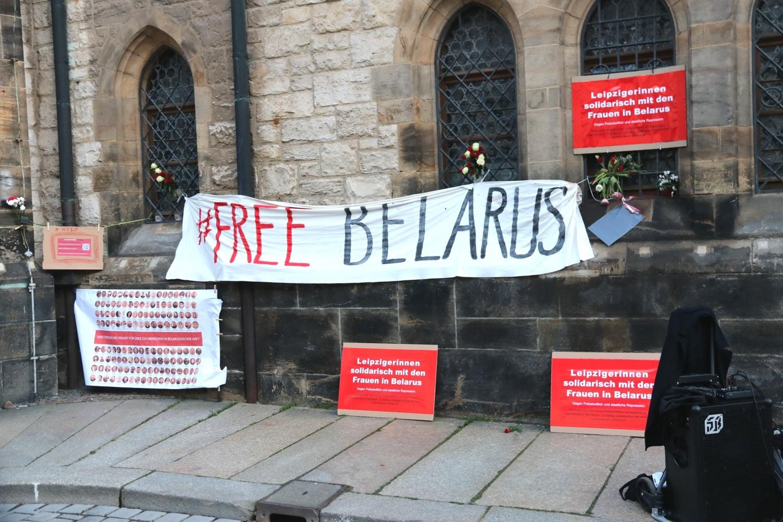 Von Gesine Oltmanns angemeldet - Solidarität mit Belarus. Foto: LZ