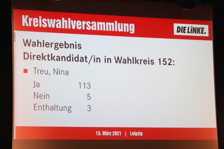 Ein beeindruckendes Wahlergebniss für Nina Treu. Foto: LZ
