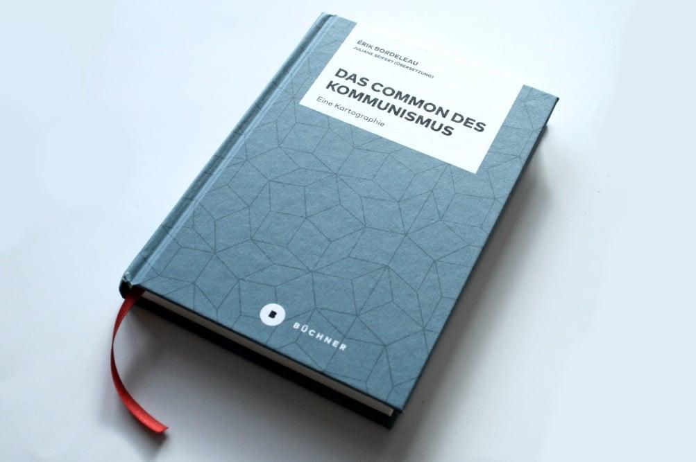 Érik Bordeleau: Das Common des Kommunismus. Foto: Ralf Julke