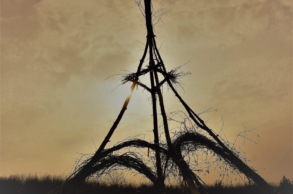 Eiffelturm am Störmthaler See. Foto: Natur- & Umweltzirkus NAUMZI