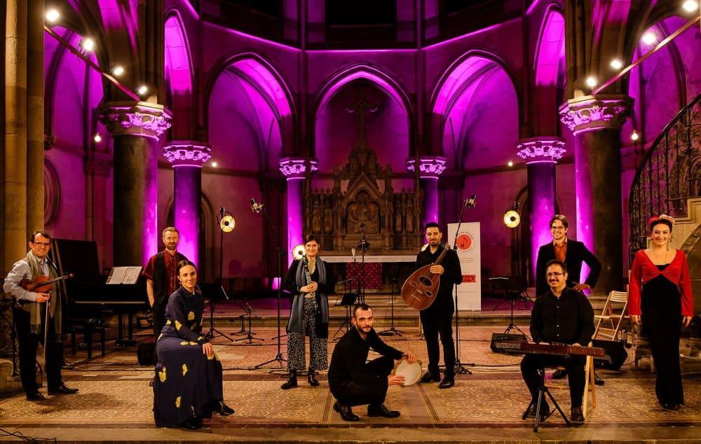 Das Ensemble Klänge der Hoffnung. Foto: Anne Hornemann