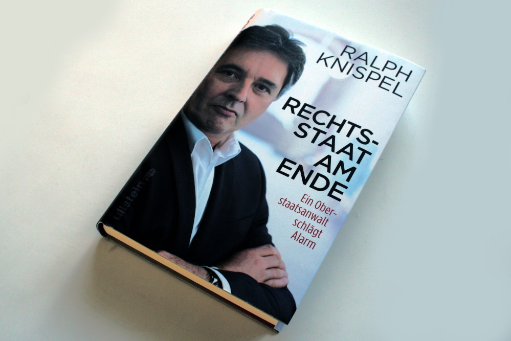 Ralph Knispel: Rechtsstaat am Ende. Foto: Ralf Julke