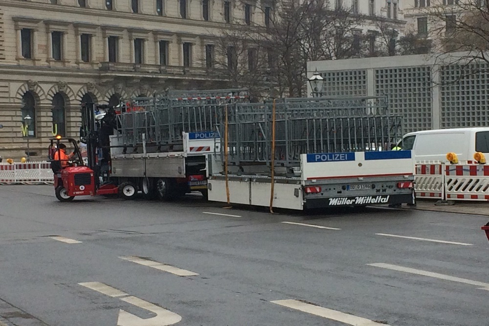 Derzeit laufen die Vorbereitungen auf die Demonstrationen am kommenden Samstag. Foto: Sabine Eicker