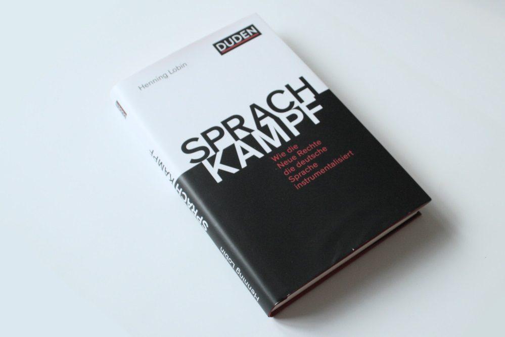 Henning Lobin: Sprachkampf. Foto: Ralf Julke