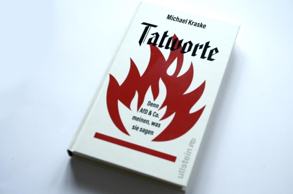 Michael Kraske: Tatworte. Foto: Ralf Julke