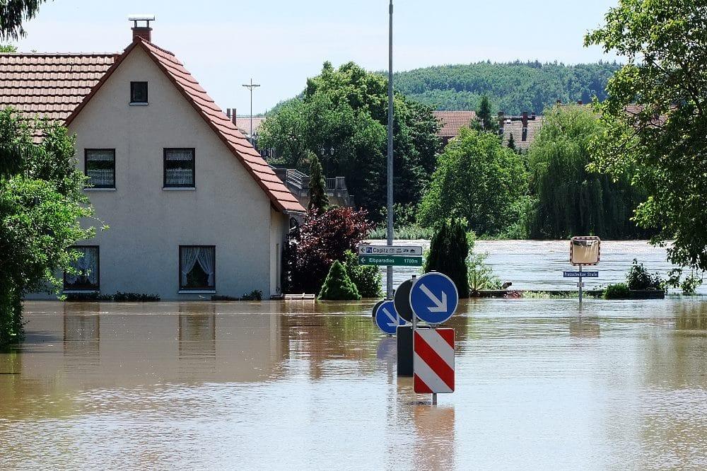 Elbehochwasser in Pirna im Juni 2013 © LfULG/ Katrin Hänsel