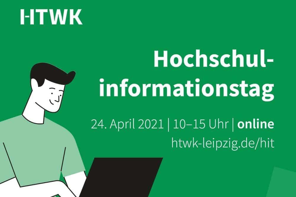 Am 24.4. 2021 findet der virtuelle Hochschulinfotag der HTWK Leipzig statt. Quelle: HTWK Leipzig