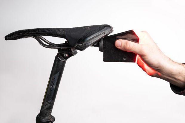 Die Anbringung der Kamera am Sattel. Quelle: Dashfactory GmbH