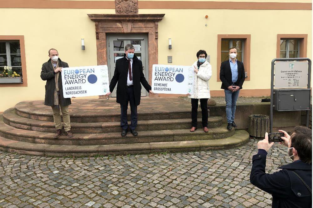 European Energy Award (eea) Landkreis Nordsachsen © SAENA
